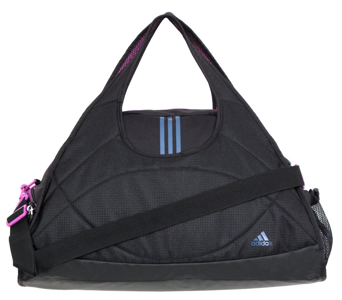 Rated 5 out of 5 by ConnieA from GREAT TO GO GYM BAG I got the bag in Black modern look. The size is perfect for my soccer gear or just a gym day. The size is perfect for my soccer gear or just a gym Price: $