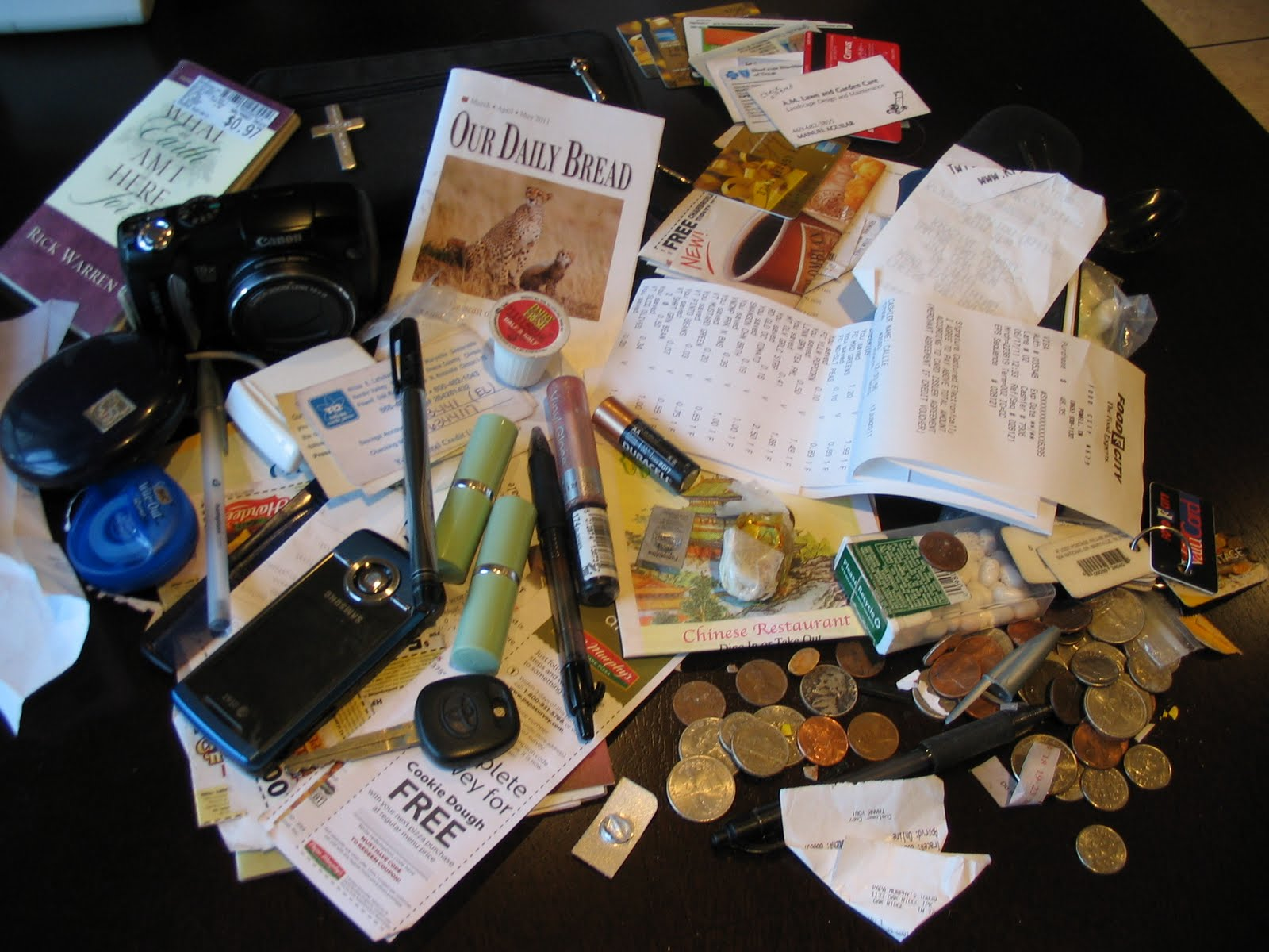Inside My Purse