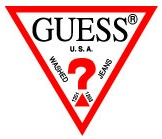 Logo Guess handbags
