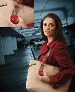 Handbag Charm Security Alarm